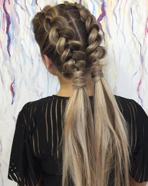 tendências-penteados-para-cabelo-comprido-tranças