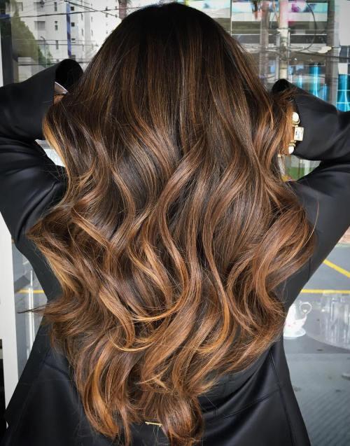 caramel-balayage-10-tendências-de-cor-de-cabelo-em-2018