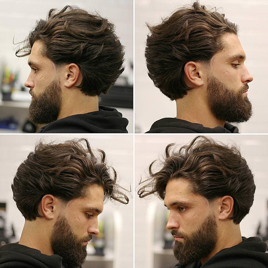 fios-de-cabelo-compridos-tendência-de-cortes-de-cabelo-masculinos-verão-2018