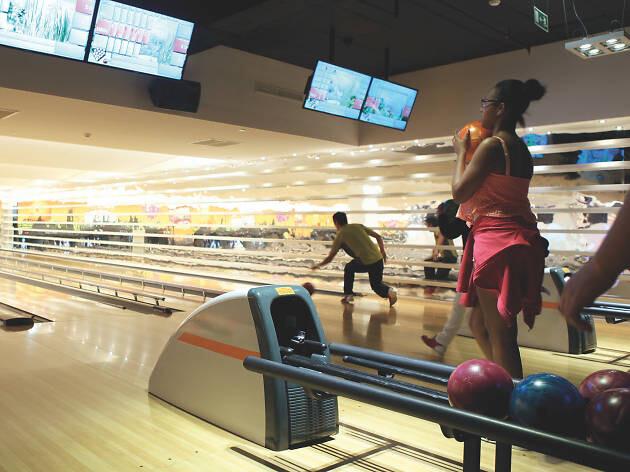 Bowling-City-do-Centro-Comercial-Colombo-o-que-fazer-com-chuva-em-lisboa